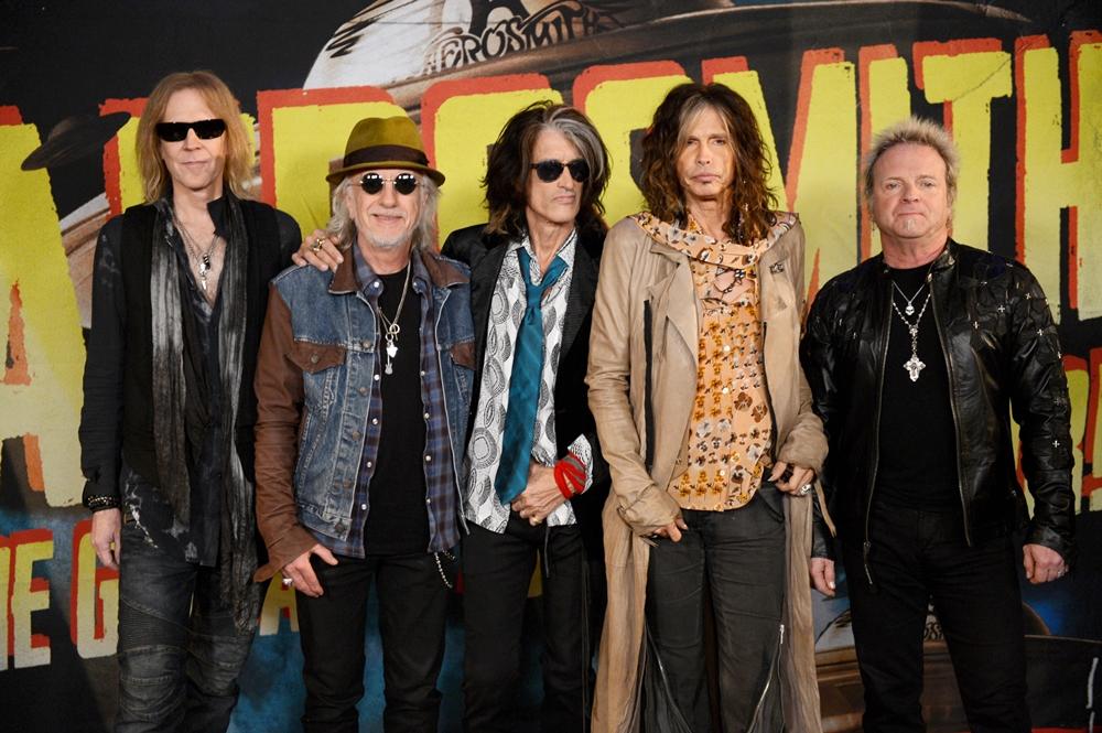 Aerosmith Press Junket