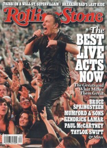 滾石雜誌:現今最棒的50大現場表演 50 Greatest Live Acts Right Now