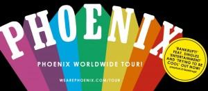 法國樂團PHOENIX首次來台演出 8月12日Legacy Taipei