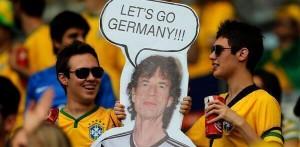 滾石主唱Mick Jagger是巴西慘敗的元凶?